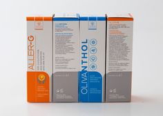 Samcos, Olivanthol & Aller-g - Herbal Skin Spray on Packaging of the World - Creative Package Design Gallery