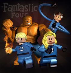 Lego Dc Comics, Lego Marvel Heroes, Marvel Comics, Lego Spiderman, Lego Film, Lego Movie, Lego Pictures, Avengers Wallpaper, Custom Lego