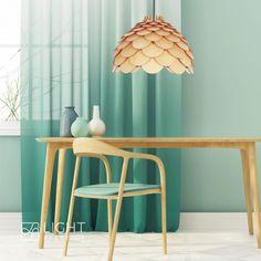 BURGO LP-101335/1P L to drewniana lampa wisząca o średnicy abażura/klosza wynoszącej 50 cm.  W serii dostępny jest także żyrandol o średnicy 35 cm. Decor, Home Decor, Lamp, Light