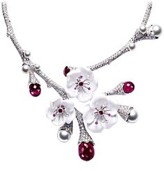 Inspiration: Piaget - Love the cherry blossom detail. This may lead to some wall art...