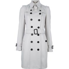 Trench off white Burberry - amamos!