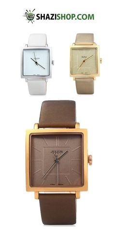 Get JULIUS Quartz Brand Lady Watches Women Luxury Rose Gold Antique Square Casual Leather Dress Wrist watch Relogio Feminino Montre at just $13. Snap up now! https://www.shazishop.com/collections/womens-watches/products/julius-quartz-brand-lady-watches-women-luxury-rose-gold-antique-square-casual-leather-dress-wrist-watch-relogio-feminino-montre
