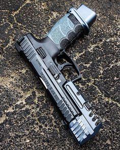 Revolver, Tactical Pistol, Tactical Gear, 9mm Pistol, Tactical Survival, Weapons Guns, Guns And Ammo, Shooting Guns, Custom Guns