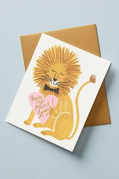 Slide View: 1: My Mane Squeeze Card