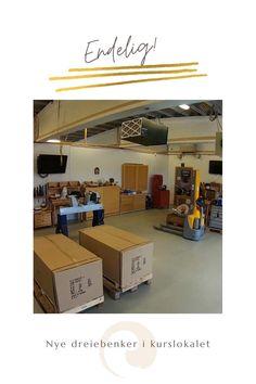 Har du lyst til å gå på kurs i tredreiing? Nå har vi flunka nye dreiebenker i kurlokalet vårt i Stavanger. #woodturning #lathe #dreiebenk #tredreiing Loft, Bed, Furniture, Home Decor, Decoration Home, Stream Bed, Room Decor, Lofts, Home Furnishings