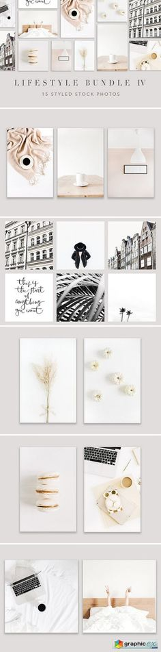 Lifestyle Photo Bundle 4  stock images