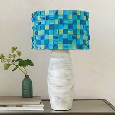 Dorm Decor: Confetti Lampshade
