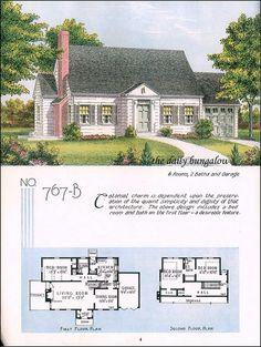 1948 Estes - Plan 228 | VinTagE HOUSE PlanS~1940s | Pinterest ...