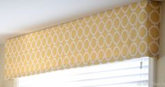 how to make a fabric valance