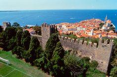 Town wall, Piran