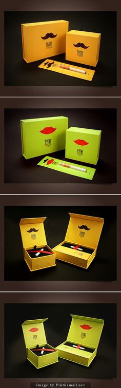 pack-nycotyna - cigarettes packaging
