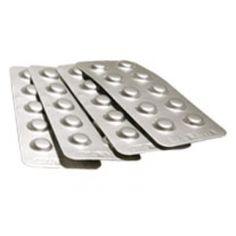 http://handinstrument.se/labbinstrument-r411/extab-klorreagens-tabletter-100pk-1000-tester-53-CL204-r452 ExTab Klorreagens tabletter (100pk - 1000 tester) Inkluderar 100 förpackningar (10 tabletter ea.) Kräver 1 tablett per test - tillräckligt för 1000 tester Folieförpackningen ger mycket stabil miljö med lång hållbarhet Inga smutsiga pulver reagens Ingen dosering som krävs Garanti: 6 Månader