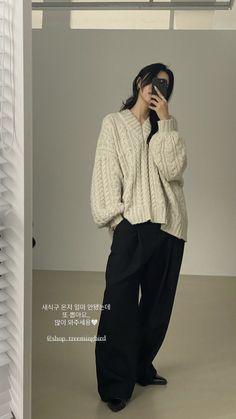 Korean Girl Fashion, Korean Street Fashion, Asian Fashion, Look Fashion, Korean Outfits, Mode Outfits, Girl Outfits, Fashion Outfits, Aesthetic Fashion