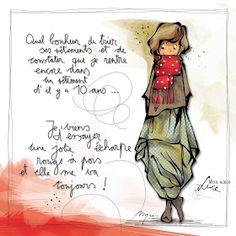 "MYRA & les couleurs ...: mon amie ""LUCE"" Illustrations, Photo Illustration, Copics, Character Drawing, Art Sketchbook, Love Art, Diy Art, Art Girl, Positivity"