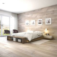 Most Popular Bedroom Wall Design Modern Ideas Tile Bedroom, Bedroom Wall Designs, Modern Bedroom Design, Master Bedroom Design, Home Decor Bedroom, Living Room Tv, Living Spaces, Home Interior, Interior Design