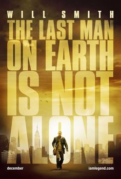 I Am Legend , starring Will Smith, Alice Braga, Charlie Tahan, Salli Richardson-Whitfield. Years after a plague kills most of humanity and transforms the rest into monsters, the sole survivor in New York City struggles valiantly to find a cure. #Drama #Sci-Fi #Thriller