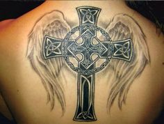 Celtic Cross Tattoo Bre's - 50 Creative Cross Tattoo Designs   Art and Design