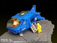 PER-1L - First Steps #flickr #LEGO #space #neoclassic #MOC