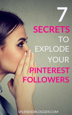 How to grow your Pinterest account fast. Learn 7 best strategies to increase your Pinterest followers and build your Pinterest presence. Click here to grow your Pinterest following starting today!   grow pinterest followers   grow pinterest following   grow pinterest traffic #pinterest #blog
