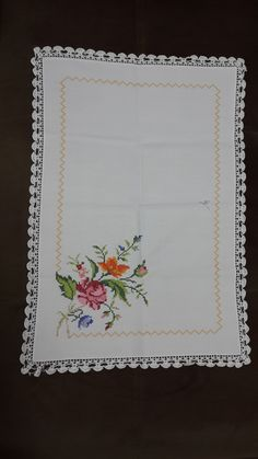 Cross Stitch Flowers, Baby, Dresses, Floral Letters, Letters With Flowers, Cross Stitch Borders, Make Up Looks, Angels, Kitchen