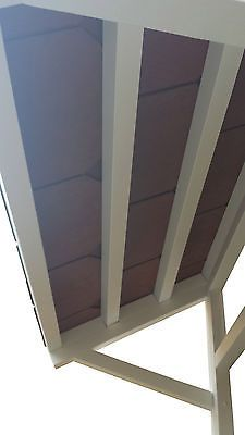 New front door Canopy roof lean to porch Tiled shelter cover Slate effect Tiles & New front door Canopy roof lean to porch Tiled shelter cover Slate ...