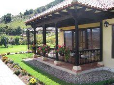 45 Best Ideas For Exterior De Casas Colores Para Village House Design, Village Houses, Spanish Style Homes, Spanish House, Future House, My House, Pergola, Gazebo, Traditional House