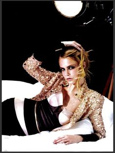 #CaraDelevingne by #KarlLagerfeld for #Numero #146 September 2013
