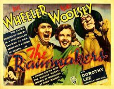 The Rainmakers (1935) Stars: Bert Wheeler, Robert Woolsey, Dorothy Lee, Berton Churchill ~ Director: Fred Guiol