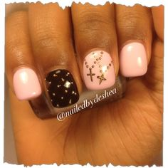 cross my heart by nailedbydeshea from Nail Art Gallery