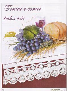Pintura e Crochê - BIA MOREIRA - Crochet Arte 8 - Lidia Arte - Picasa Web Albums