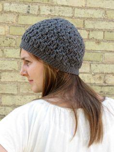 Ladies Organic Cotton Crochet Hat. $26.00, via Etsy.