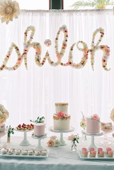 Sweet and Sparkly Dessert Table