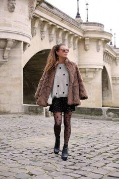 Cosy Fur & Polka Dots - Frassy