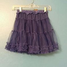 ROYAL Blue Spring Tutu Lacey material. Just cute. Can be worn with tights or alone Skirts Mini
