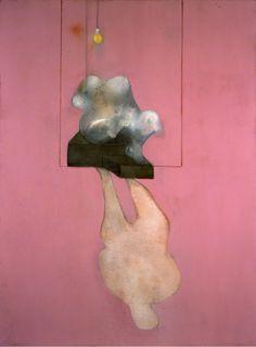Naturaleza muerta, Broken Statue y Sombra, 1984, de Francis Bacon