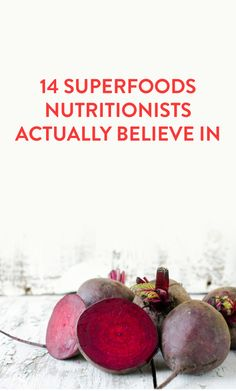 14 nutritionist-approved superfoods