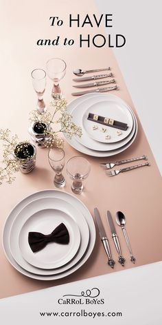 Now is the time to start collecting your dinner and flatware services which will beautify your dining table for many celebrations to come. Choose from our sought-after elegant and stylish ranges and build on them as needed. Start by opening a Gift Registry with us and invite your guests to spoil you at any of our dedicated stores or shop online at www.carrolboyes.com