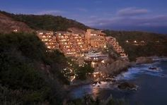 want to remember this place-#2 most romantic hotels by travelocity- Mexico/ Capella Ixtapa