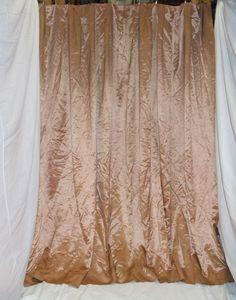 Satin Champagne Curtain (x4)