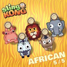 My kong (african 5/5) on game Sling Kong 💖 #SlingKong
