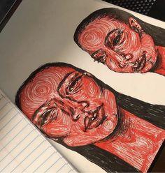 drawings of eyes Art Sketches, Art Drawings, Art Et Design, Arte Sketchbook, Hippie Art, Wow Art, Art Hoe, Psychedelic Art, Art Plastique