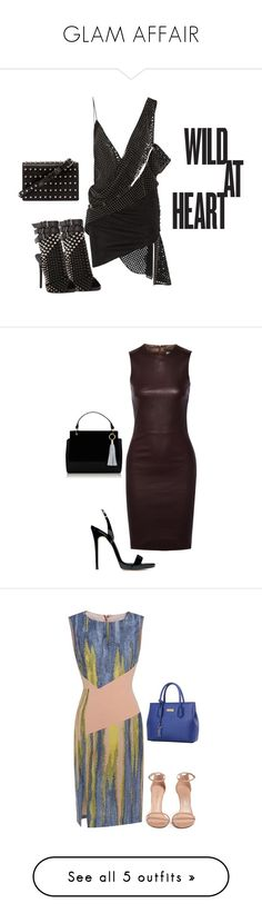 """""""GLAM AFFAIR"""" by browneyegurl ❤ liked on Polyvore featuring Anthony Vaccarello, Giuseppe Zanotti, Alexander Wang, The Row, Stuart Weitzman, True Religion, Raquel Allegra, Chanel, Paule Ka and Schutz"""