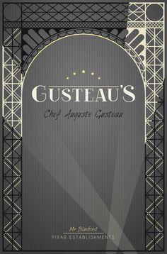 Pixar Establishments:  Gusteau's
