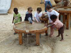 5.10600 Round Mud Table 001