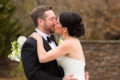 Wear waterproof mascara, you will cry on your wedding day. Lauren and Kevin's Wedding at the Hill School