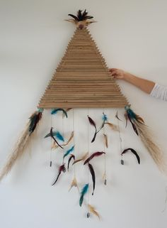 Creative interpretation of a traditional Maori kite - Te Manu Tukutuku. Rose (aged 12).