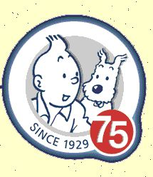 75 Years of Tintin (Belgium) • Tintin, Herge