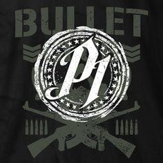 New Japan Pro-Wrestling - P1 AJ Styles Bullet Club T-shirt