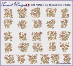 Baroque embroidered alphabet from zundt design ltd swiss florita embroidered alphabet patterns zundt design ltd swiss embroidery spiritdancerdesigns Choice Image