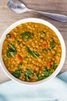 Instant Pot Lentil Dal | Vegan| Plant-Based | The Foodie Eats via @thefoodieeats